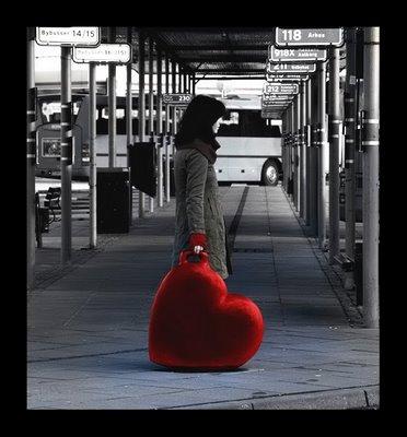 A Vida é Fugaz: Carrego seu coração comigo...